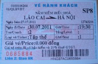 sapa train ticket