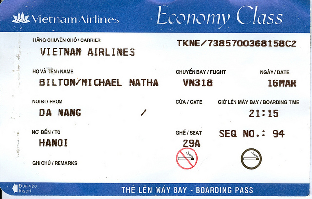 Vietnam Domestic Airfare