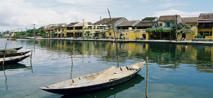 Thu Bon rive boat trip