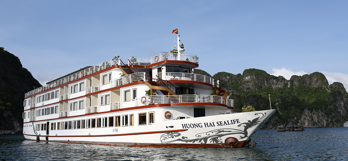 Huong Hai Halong sealife cruise1