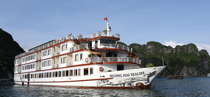 Huong Hai Halong sealife cruise1