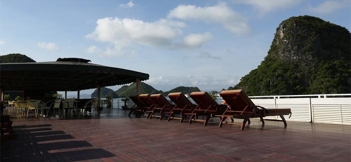 Huong Hai Halong sealife cruise13