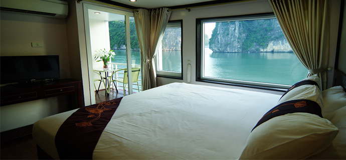 Huong Hai Halong sealife cruise6