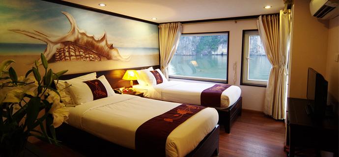 Huong Hai Halong sealife cruise7