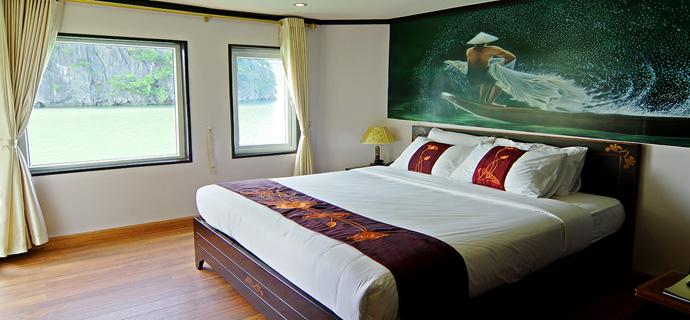 Huong Hai Halong sealife cruise8